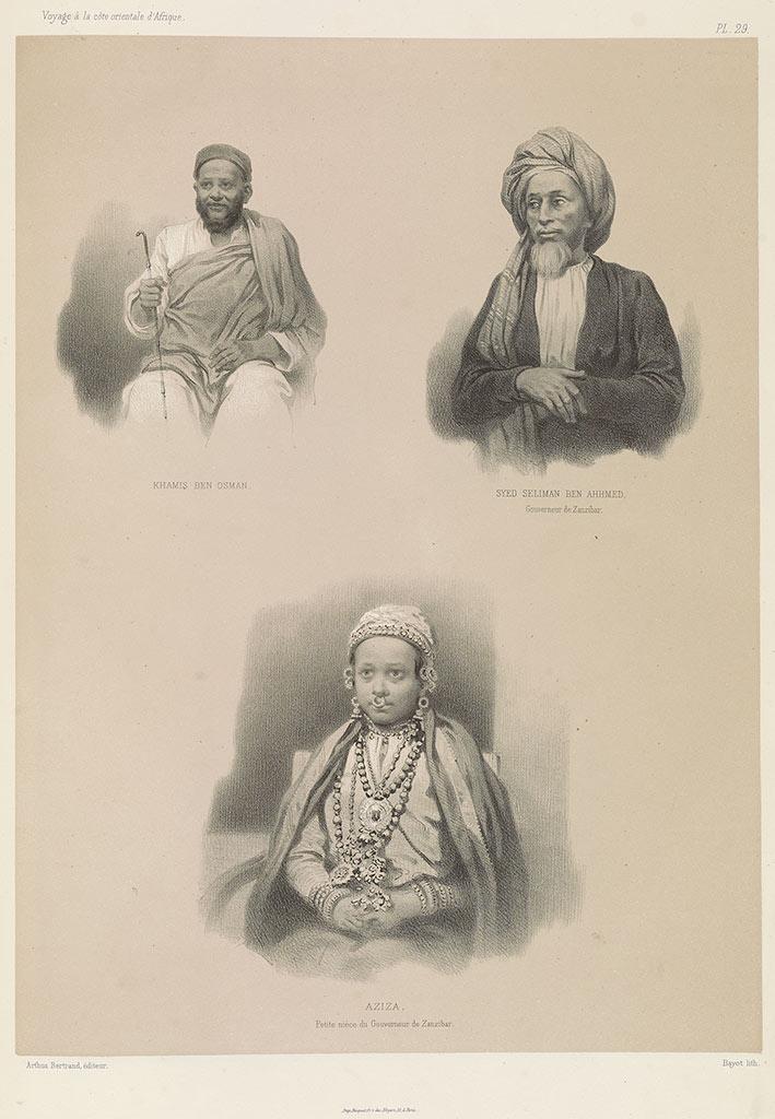 Khamis Ben Osman; Syed Seliman Ben Ahhmed, Governor of Zanzibar; Aziza