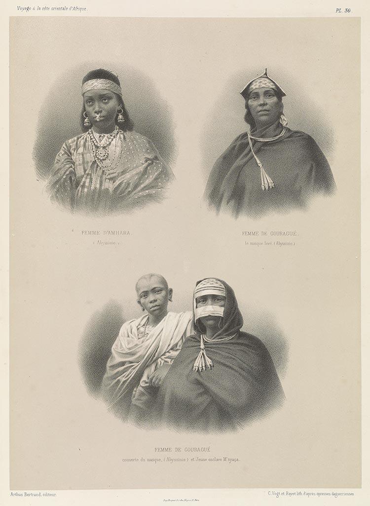 Amhara, Abyssinia, Ethiopia, Gourague, Nyasa