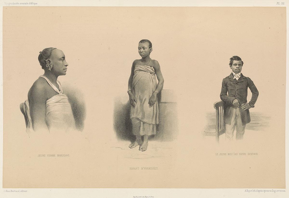 Wakwavi, Nyamwezi, Yao, Henri Gustave