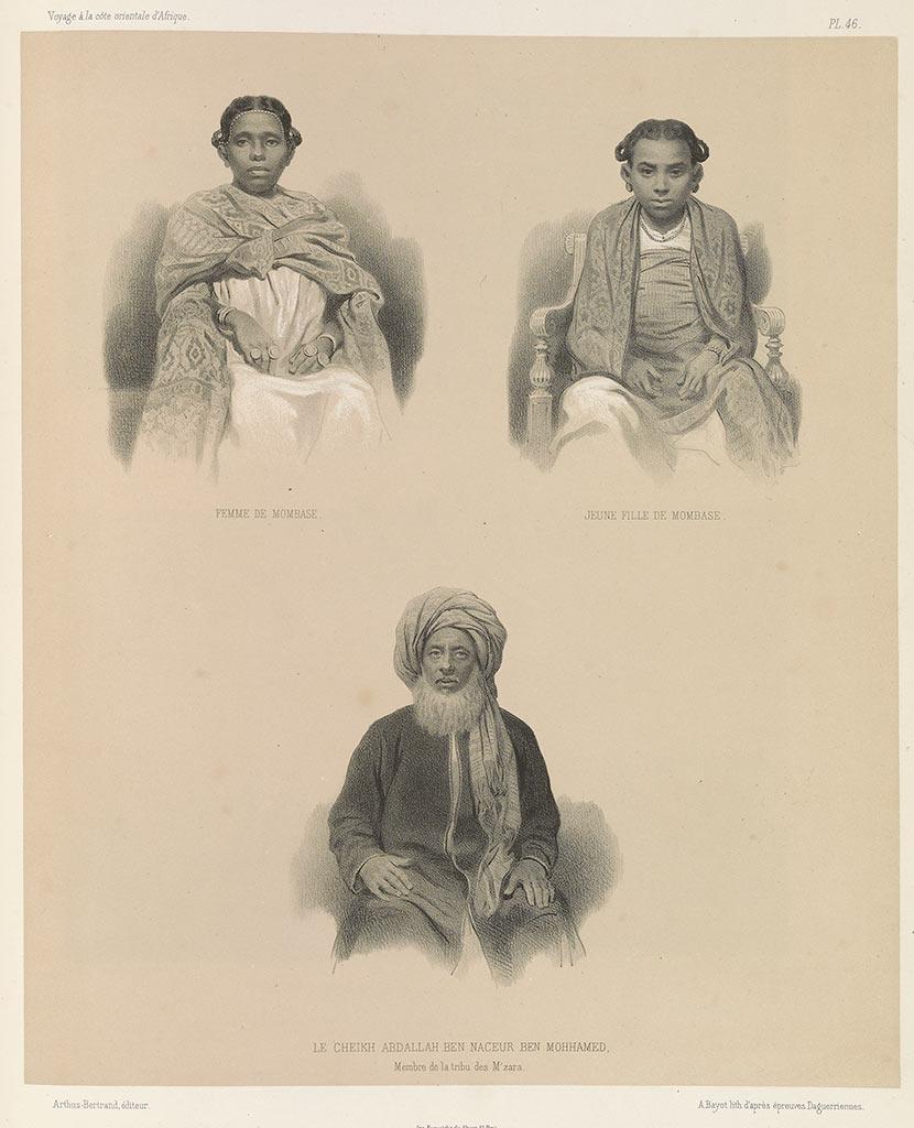 Mombasa, Cheikh Abdallah ben Naceur, Mzara