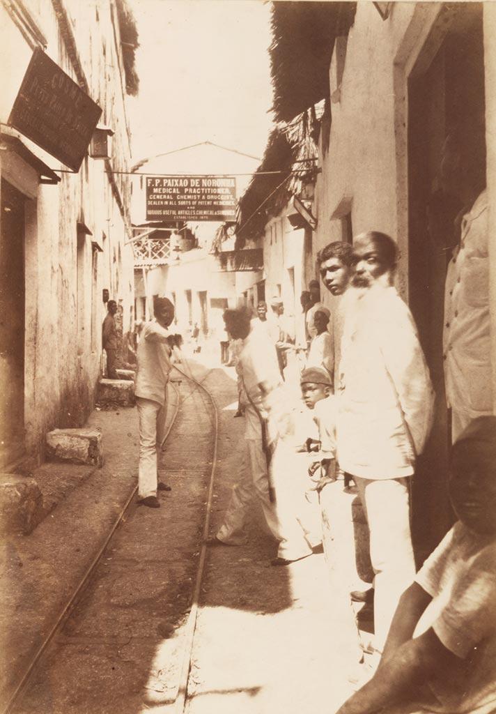 Portuguese Lane in Zanzibar Stone Town
