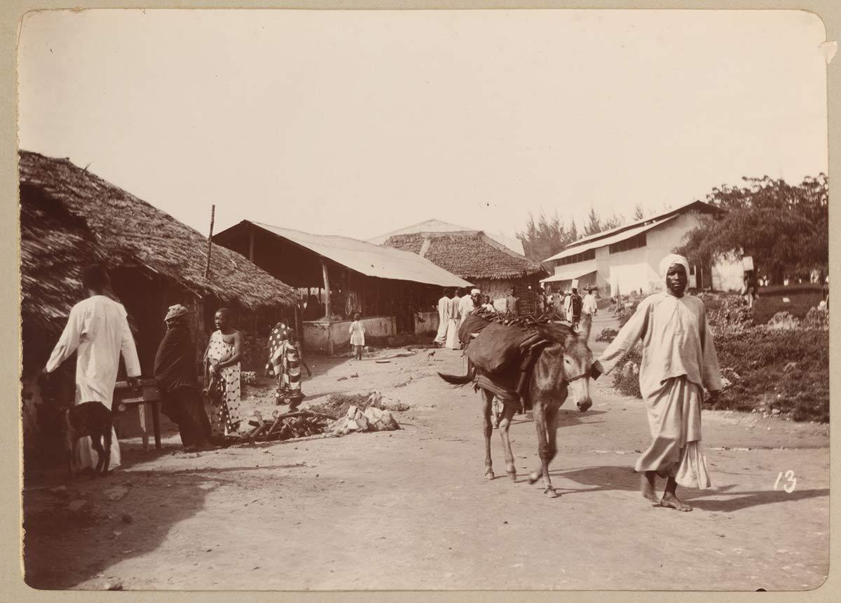 Soko Muhogo Street in Zanzibar Stone Town