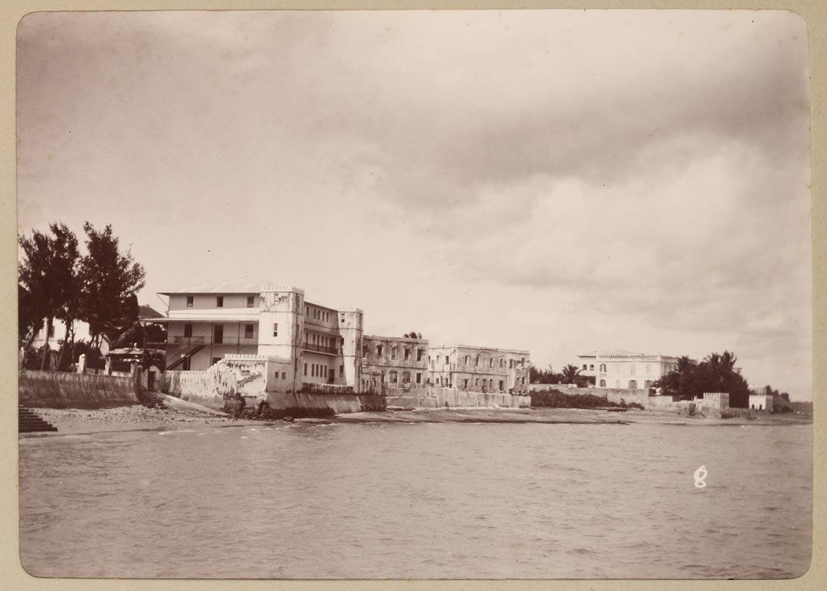 French Hospital in Zanzibar Stone Town