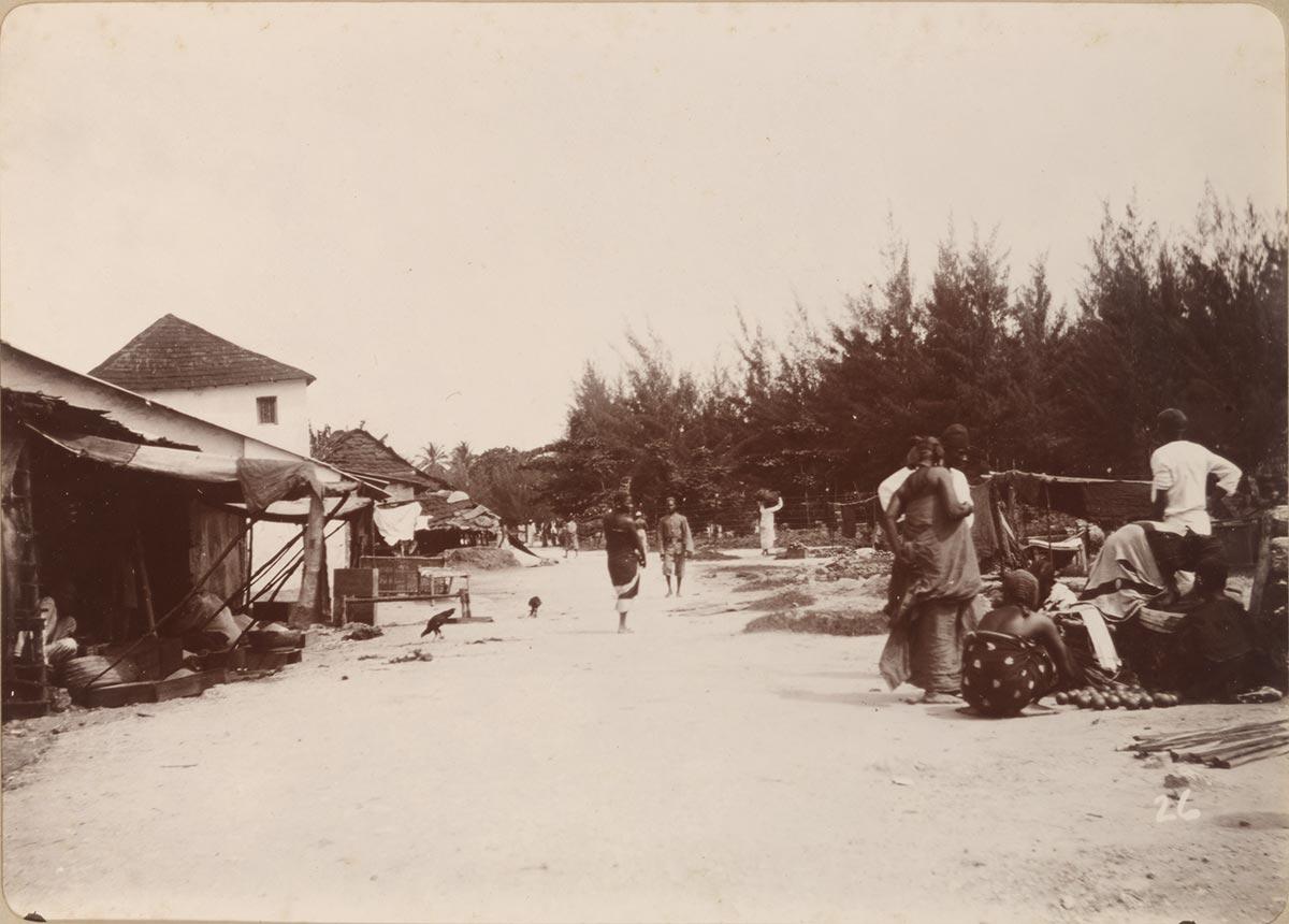 Vuga Street in Zanzibar Stone Town