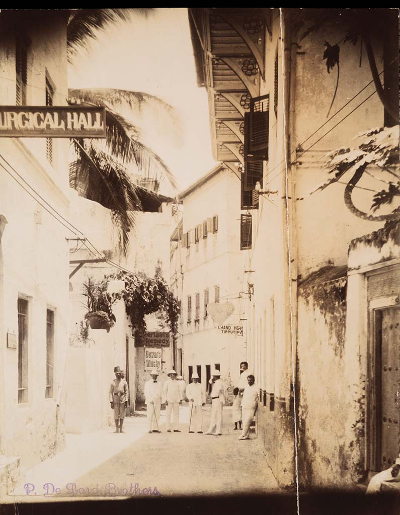 Main Road and Africa Hotel in Zanzibar Stone Town