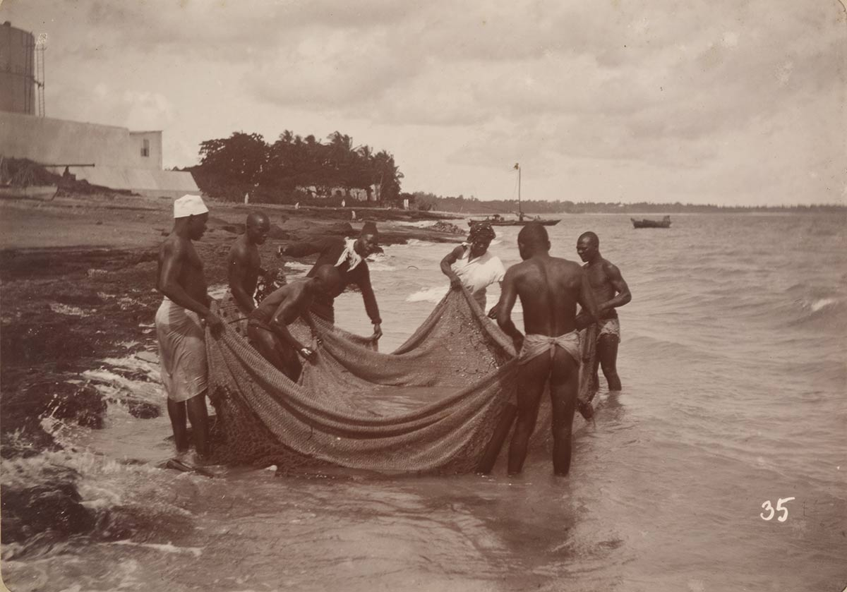 Fishermen at Funguni in Zanzibar Stone Town