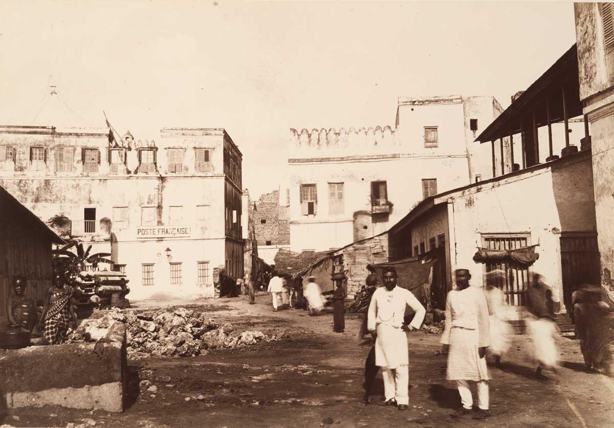 The French Post Office in Malindi, Zanzibar Stone Town