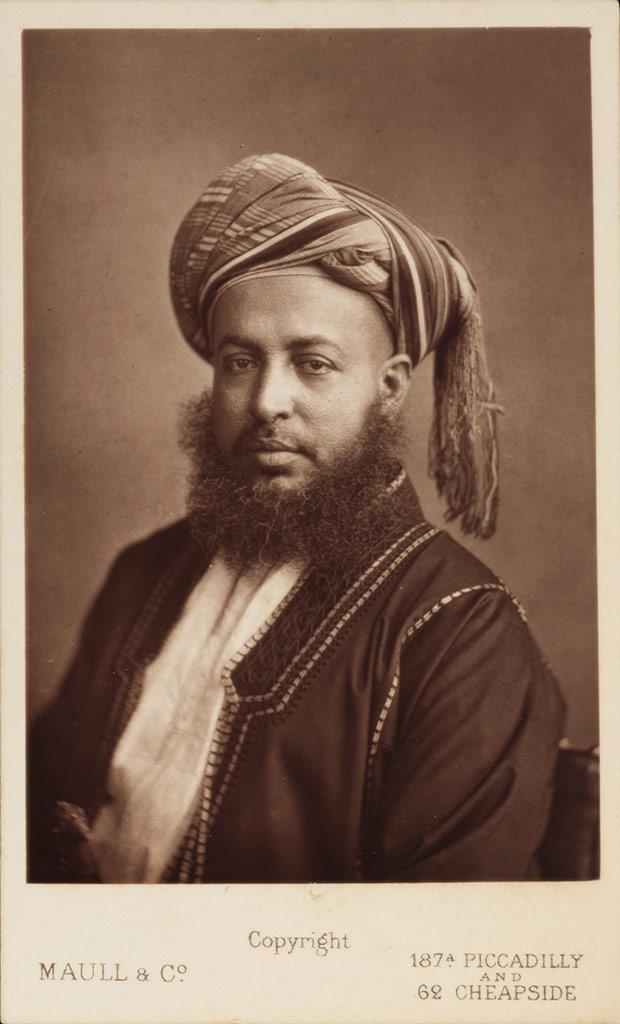 H.H. Sultan Sayyid Sir Barghash bin Sa'id