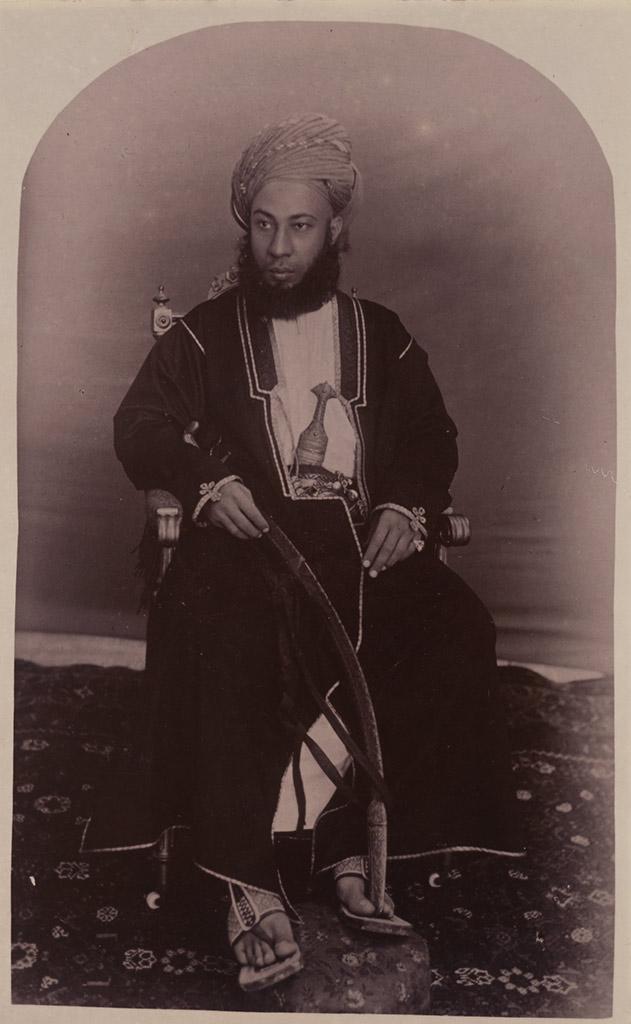 H.H. Sultan Sayyid Sir Hamad bin Thuwaini bin Sa'id