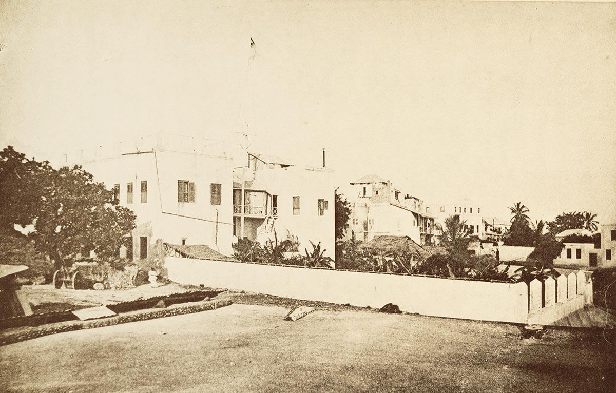 The German General Consulate in Zanzibar Stone Town
