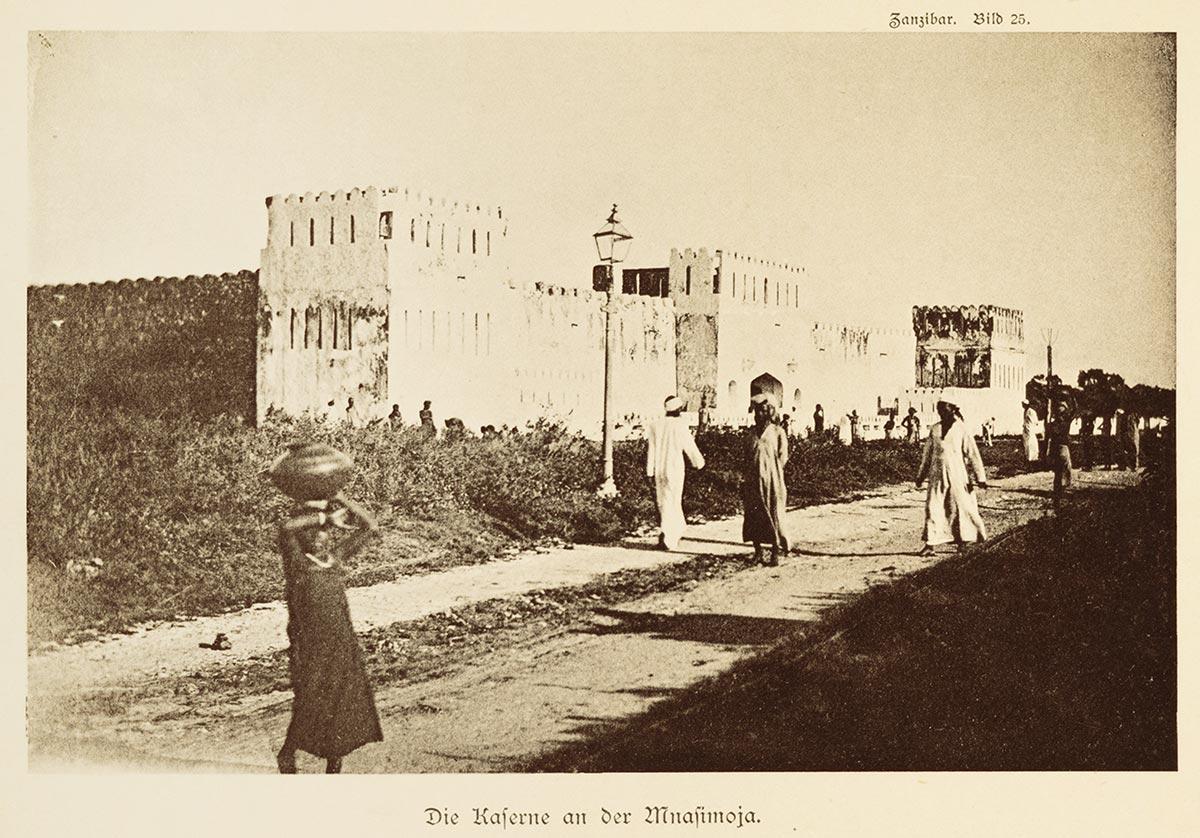 Old Barracks at Mmazi Mmoya, Zanzibar Stone Town