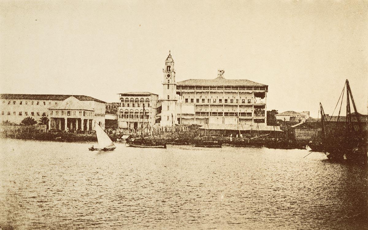 The Sultan's Palace Complex in Zanzibar Stone Town