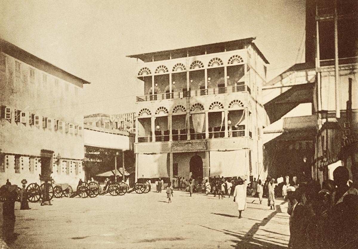 Beit al-Hukm, part of Palace Complex of Sultan of Zanzibar